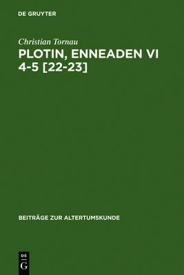 Plotin, Enneaden VI 4-5 [22-23]