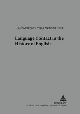 Language Contact in the History of English