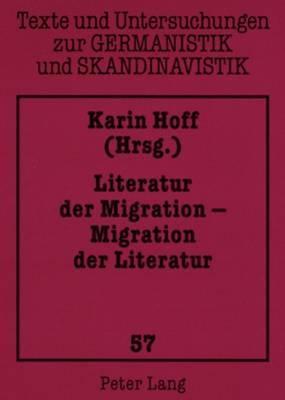 Literatur Der Migration Migration Der Literatur