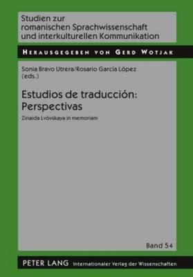 Estudios de Traduccion: Perspectivas: Zinaida Lvovskaya in Memoriam