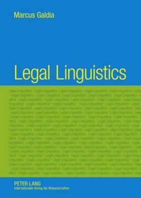 Legal Linguistics