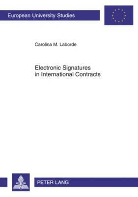 Electronic Signatures in International Contracts