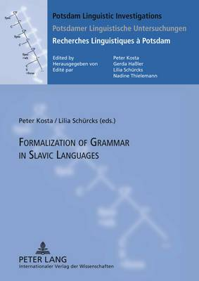 Formalization of Grammar in Slavic Languages: Contributions of the Eighth International Conference on Formal Description of Slavic Languages - FDSL VIII 2009 University of Potsdam, December 2-5, 2009