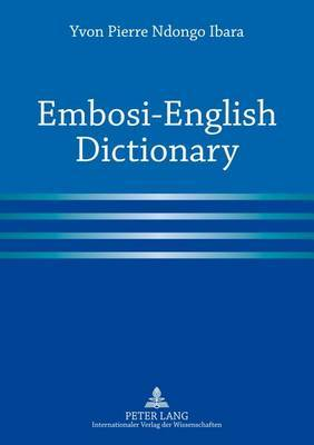 Embosi-English Dictionary