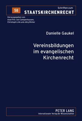 Vereinsbildungen Im Evangelischen Kirchenrecht