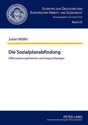Die Sozialplanabfindung: Differenzierungskriterien Und Ausgestaltungen