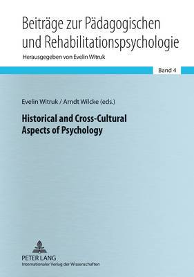 Historical and Cross-Cultural Aspects of Psychology