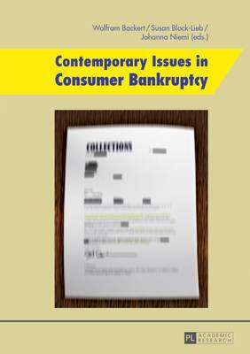 Contemporary Issues in Consumer Bankruptcy