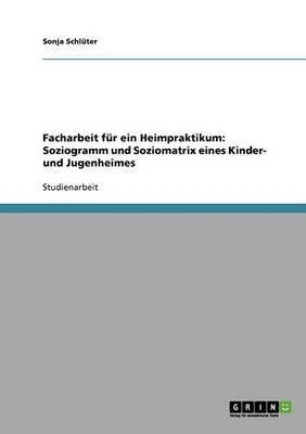 Facharbeit Fur Ein Heimpraktikum: Soziogramm Und Soziomatrix Eines Kinder- Und Jugenheimes