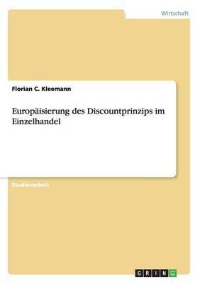 Europaisierung Des Discountprinzips Im Einzelhandel