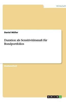 Duration ALS Sensitivitatsmass Fur Bondportfolios