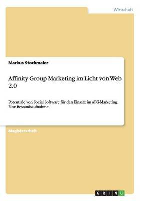 Affinity Group Marketing Im Licht Von Web 2.0