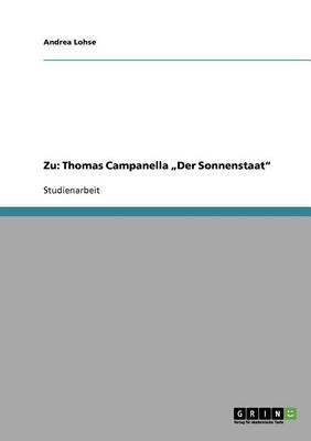 Zu: Thomas Campanella Der Sonnenstaat