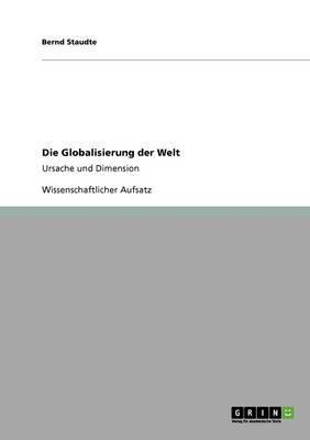 Die Globalisierung Der Welt