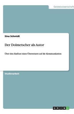 Der Dolmetscher ALS Autor