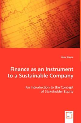 Finance as an Instrument to a Sustainable Company