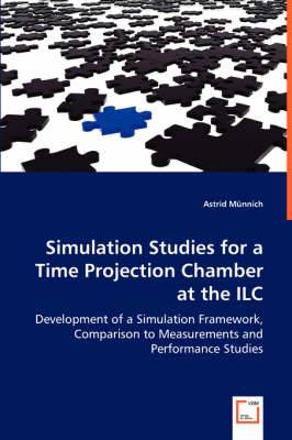 Simulation Studies for a Time Projection Chamber at the ILC