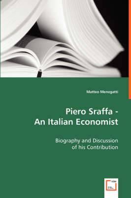 Piero Sraffa - An Italian Economist