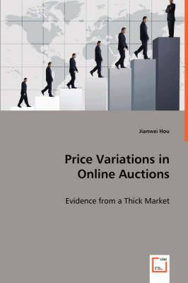 Price Variations in Online Auctions