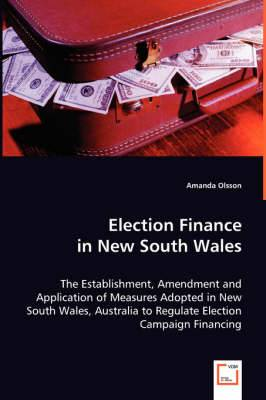 Election Finance in New South Wales