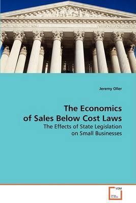 The Economics of Sales Below Cost Laws