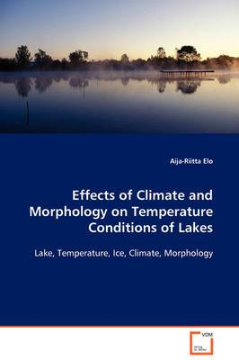 Effects of Climate and Morphology on Temperature Conditions of Lakes