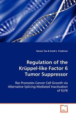 Regulation of the Krppel-Like Factor 6 Tumor Suppressor