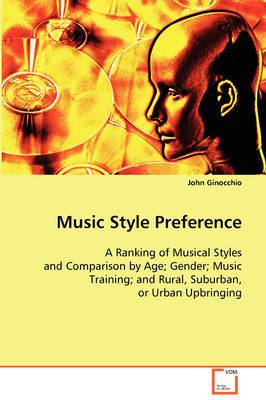 Music Style Preference