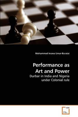 Performance as Art and Power