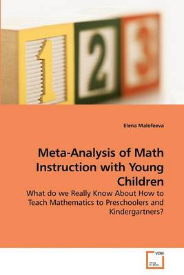 Meta-Analysis of Math Instruction with Young Children