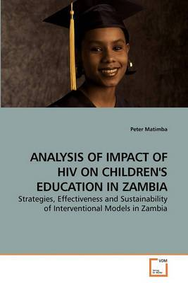 Analysis of Impact of HIV on Children's Education in Zambia