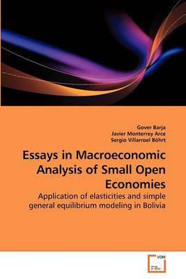 Essays in Macroeconomic Analysis of Small Open Economies