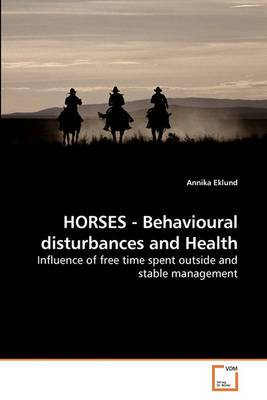 Horses - Behavioural Disturbances and Health
