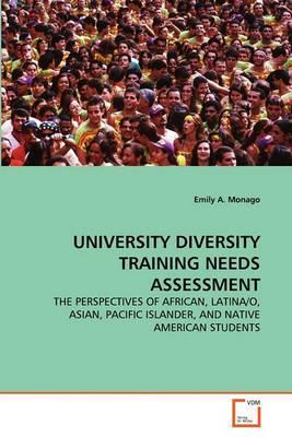University Diversity Training Needs Assessment