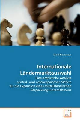 Internationale Landermarktauswahl