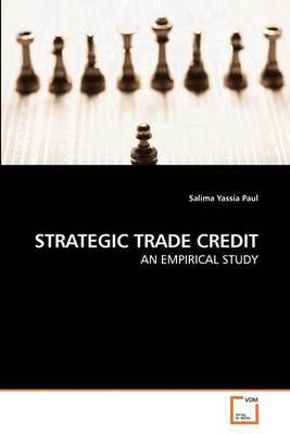 Strategic Trade Credit