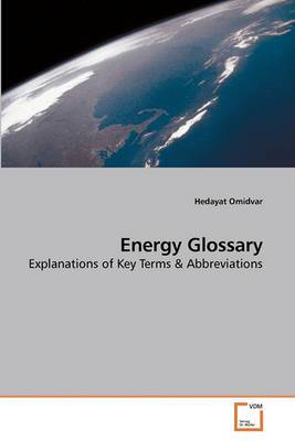 Energy Glossary