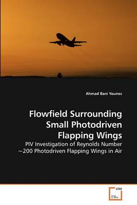 Flowfield Surrounding Small Photodriven Flapping Wings