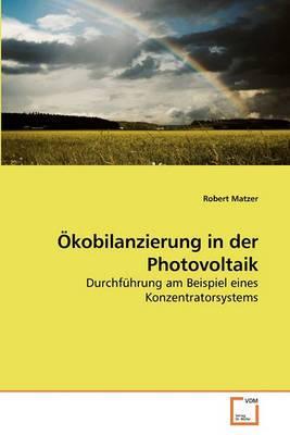 Kobilanzierung in Der Photovoltaik