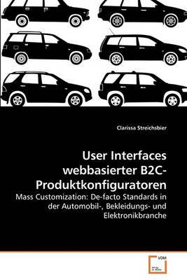 User Interfaces Webbasierter B2c-Produktkonfiguratoren