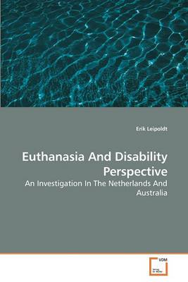 Euthanasia and Disability Perspective
