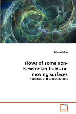 Flows of Some Non-Newtonian Fluids on Moving Surfaces