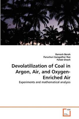 Devolatilization of Coal in Argon, Air, and Oxygen-Enriched Air