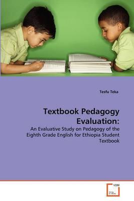 Textbook Pedagogy Evaluation