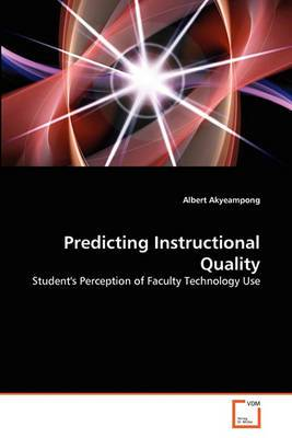 Predicting Instructional Quality