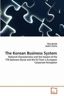 The Korean Business System