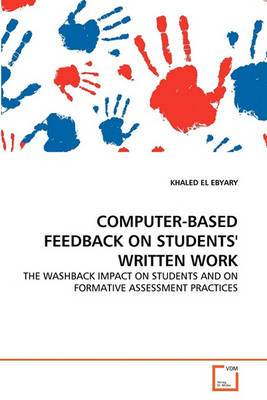 Computer-Based Feedback on Students' Written Work