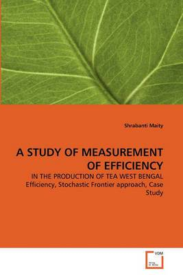 A Study of Measurement of Efficiency