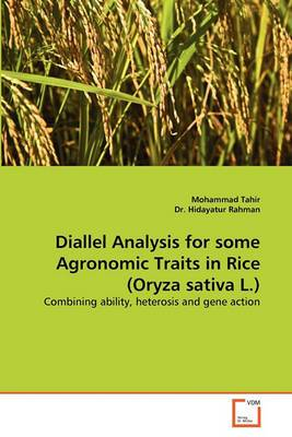 Diallel Analysis for Some Agronomic Traits in Rice (Oryza Sativa L.)