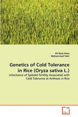 Genetics of Cold Tolerance in Rice (Oryza Sativa L.)